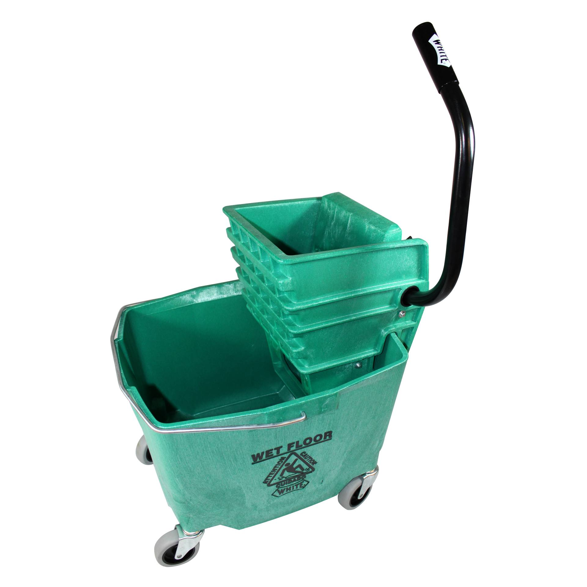 Impact Products 6/2635-3GN mop bucket wringer combination