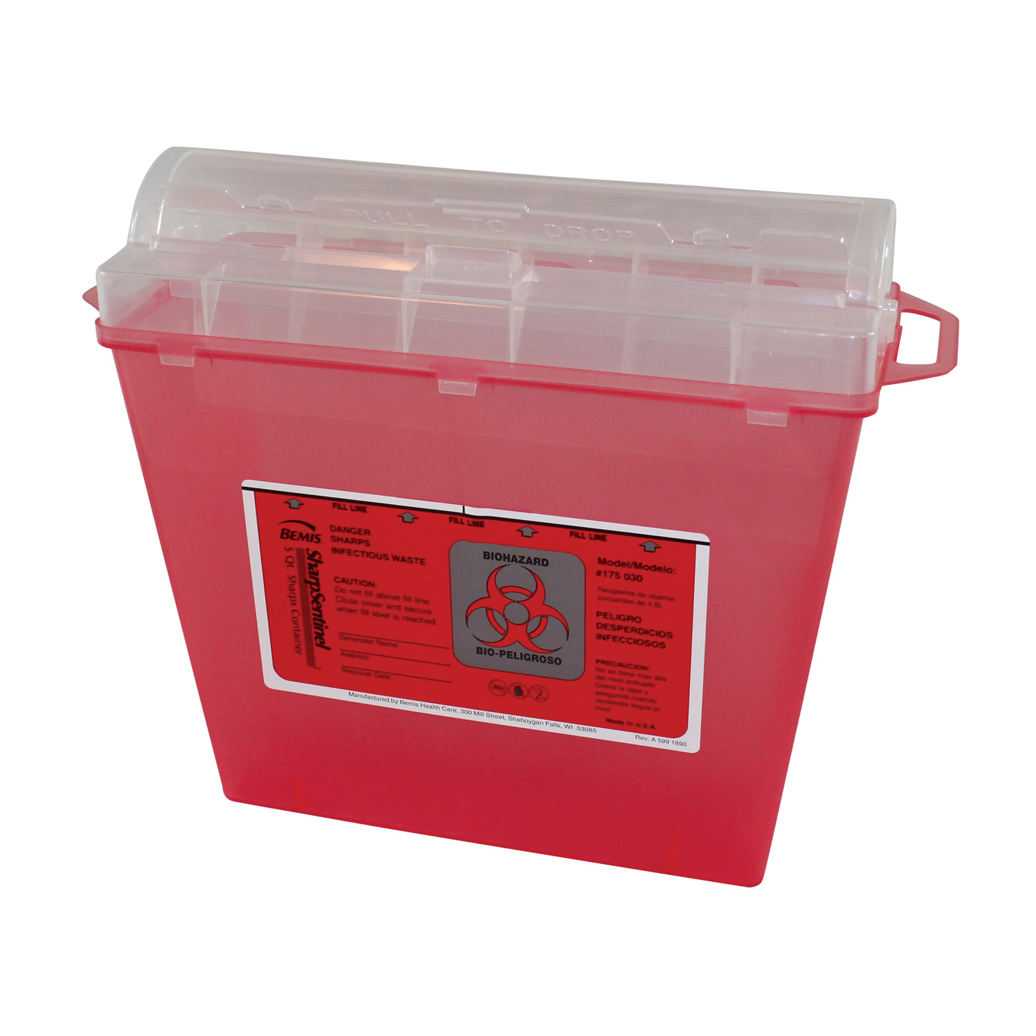 Impact Products 7365 sharps disposal