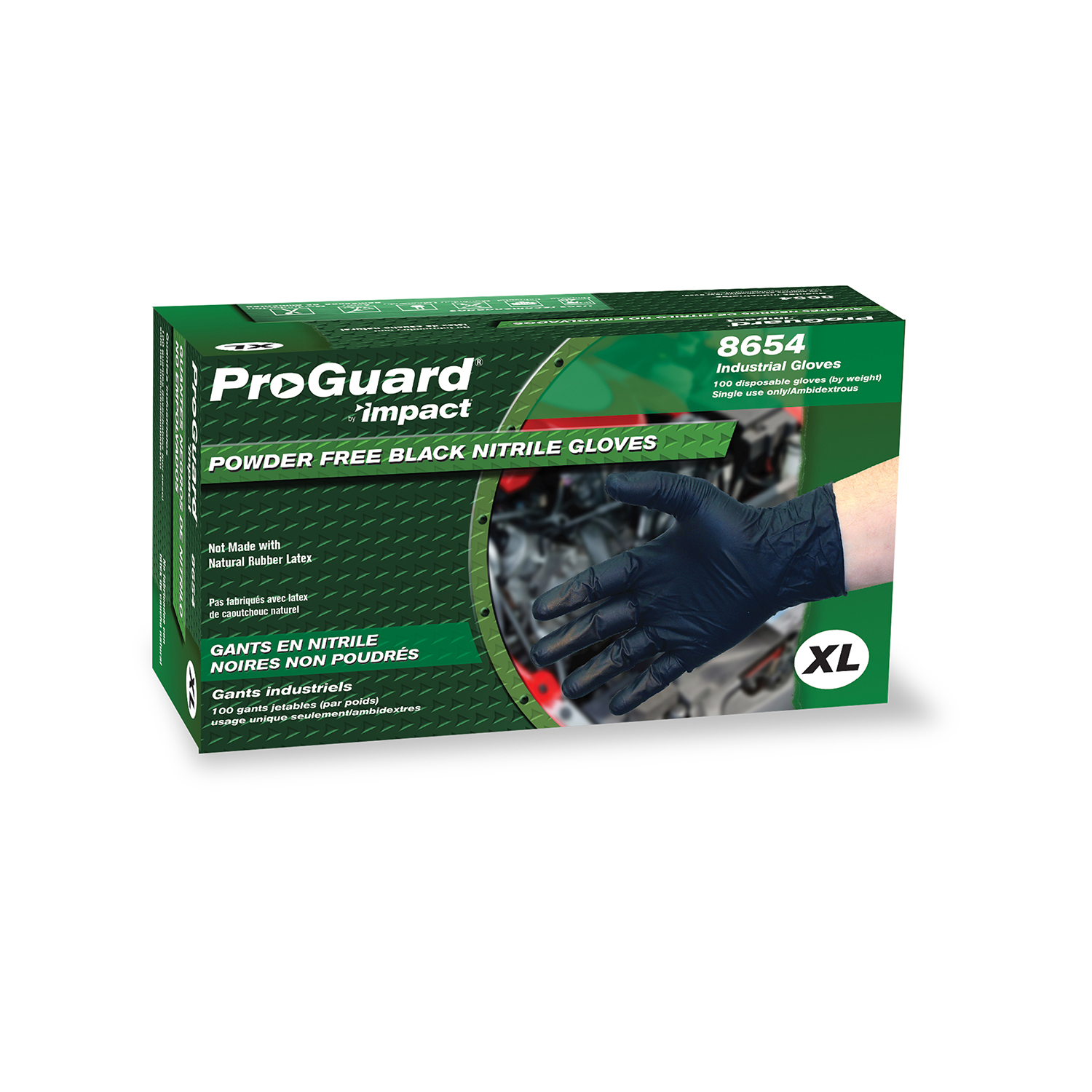 Impact Products 8654M disposable gloves