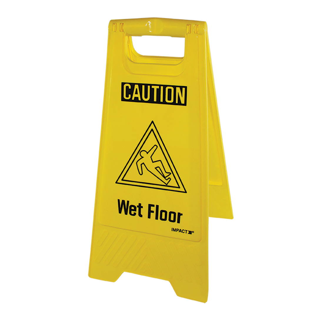 Impact Products 9152E sign, wet floor