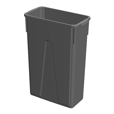 Impact Products STC2303 trash receptacle, indoor