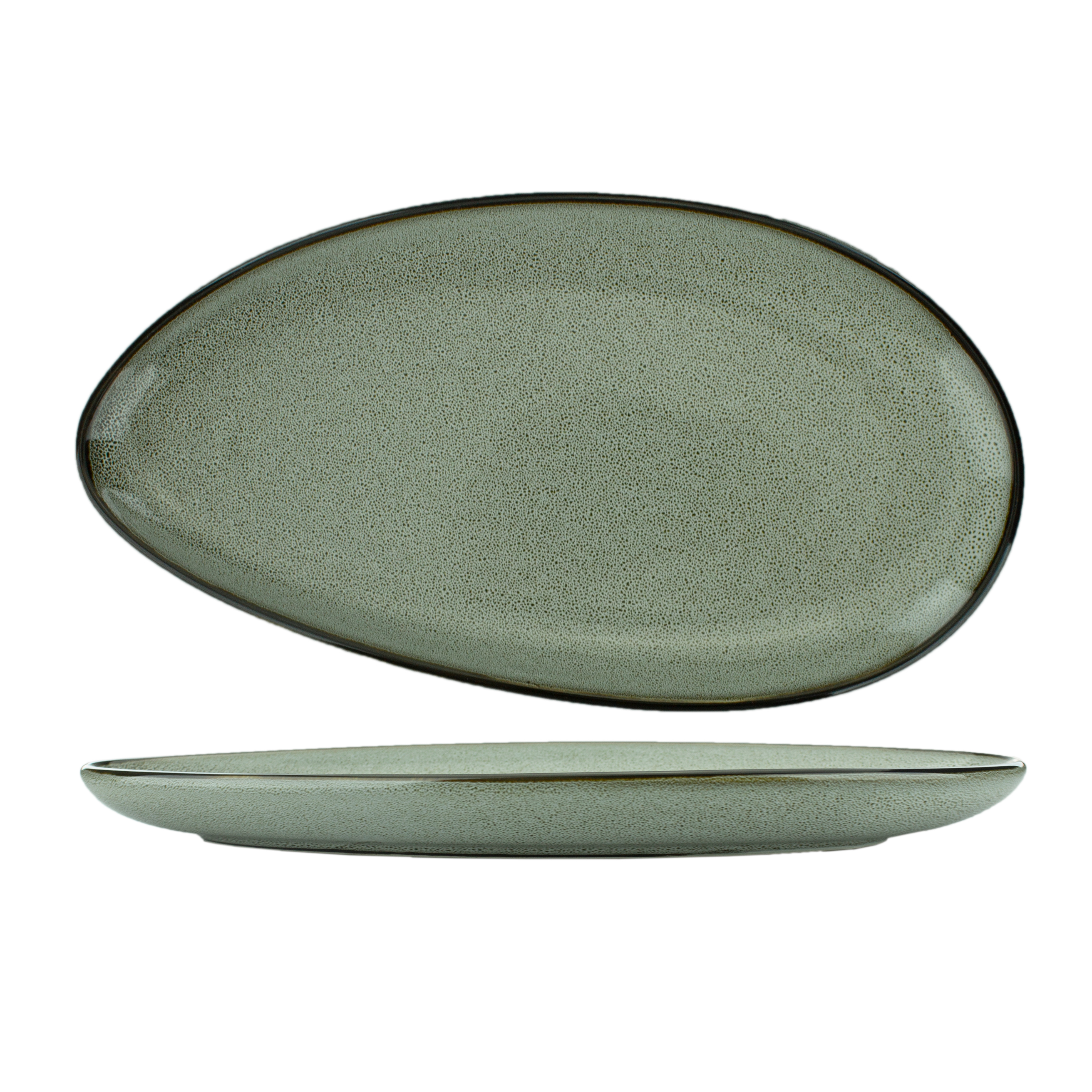 International Tableware LU-14-AS platter, china