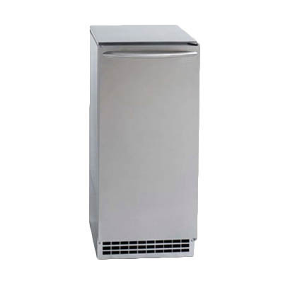 Ice-O-Matic GEMU090 ice maker with bin, nugget-style