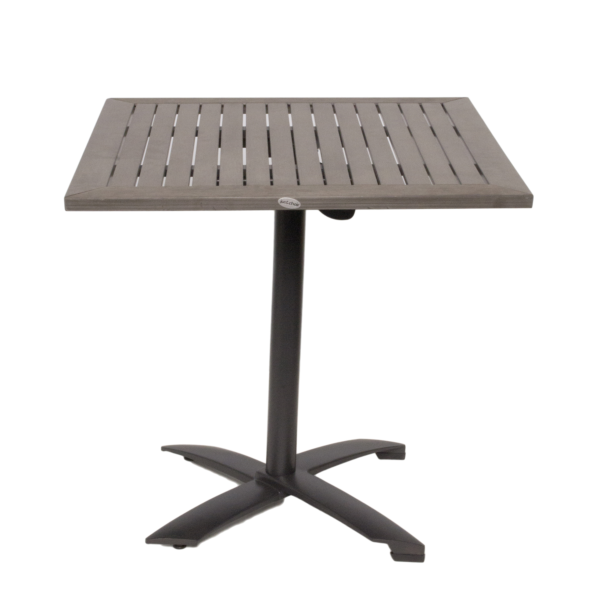 JustChair Manufacturing PW801TT-3030 table, outdoor
