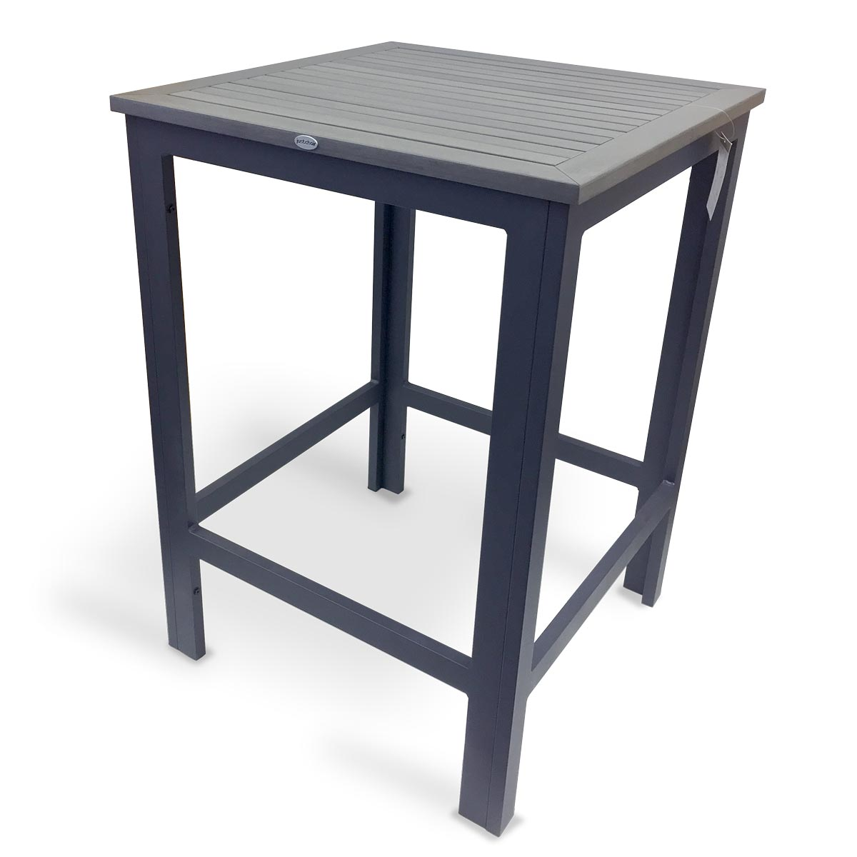 JustChair Manufacturing PW801TT-3030-BAR table, outdoor