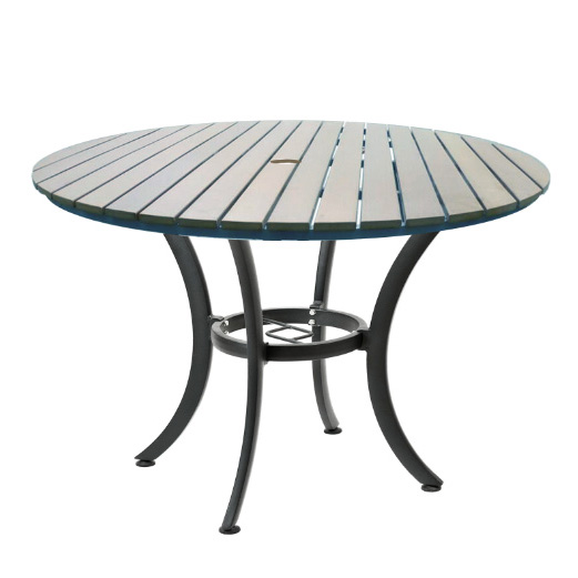 JustChair Manufacturing PW801TT-36R table, outdoor