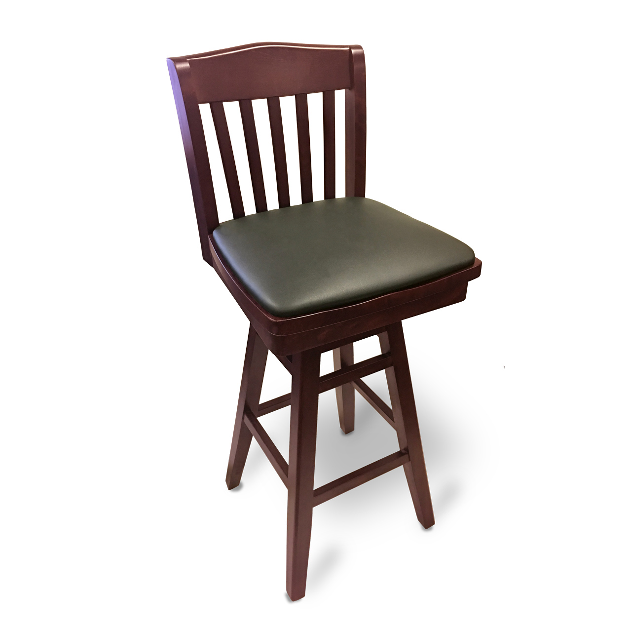 JustChair Manufacturing W36430-SWL-PS-GR3 bar stool, swivel, indoor