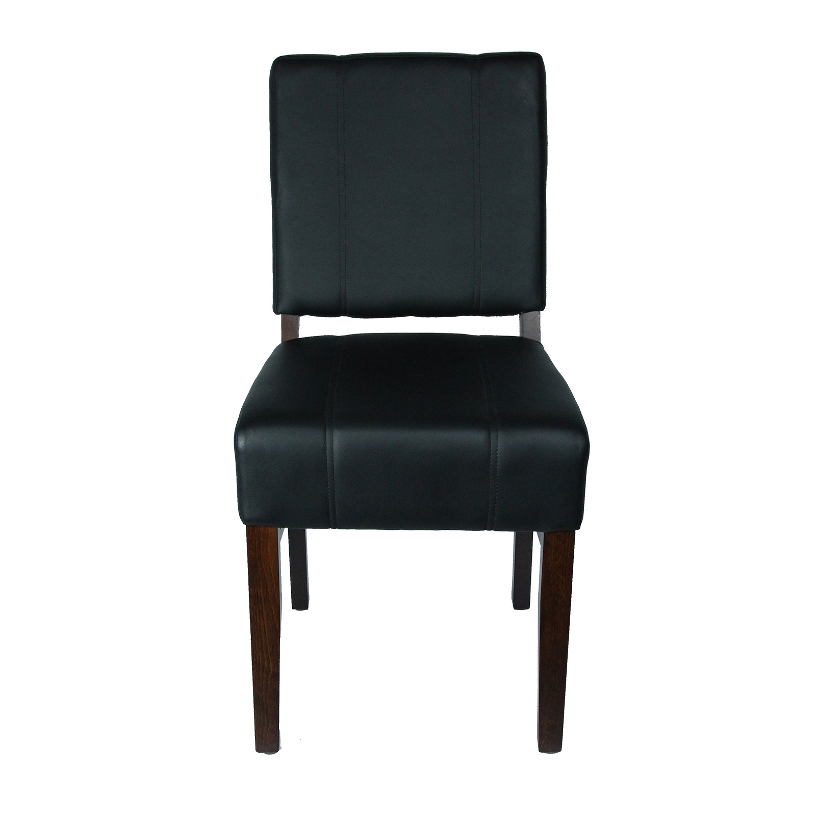 JustChair Manufacturing W53318-BLK chair, side, indoor
