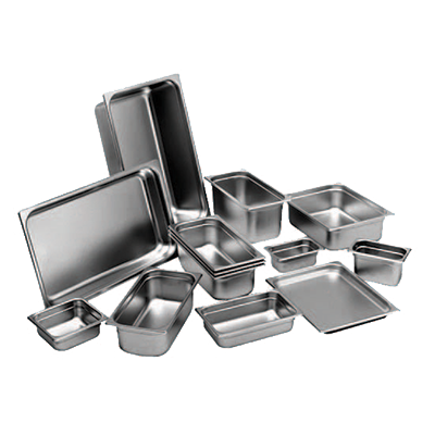 Crown Brands, LLC 58206 steam table pan, stainless steel
