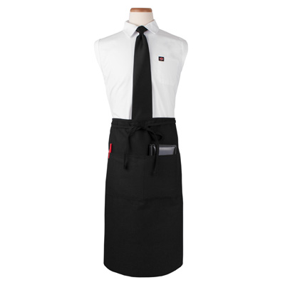 John Ritzenthaler Company CL2PWABK-1 waist apron