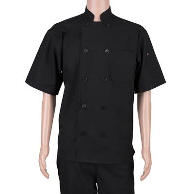 John Ritzenthaler Company RZPMCOATBK4X chef's coat