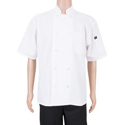 John Ritzenthaler Company RZPMCOATWHM chef's coat