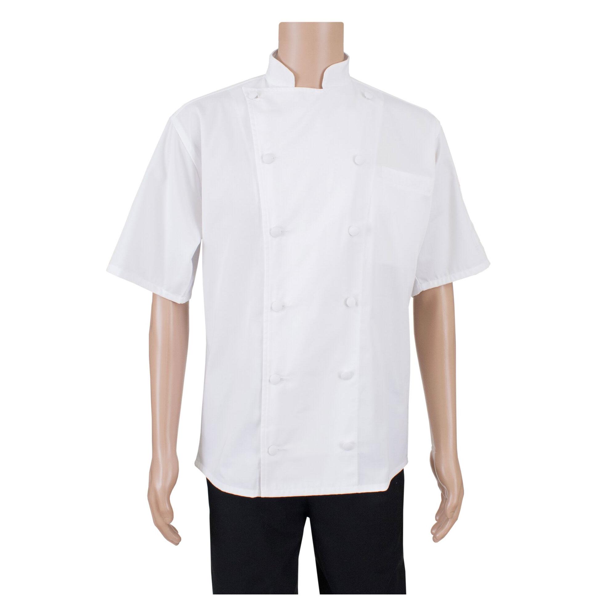 John Ritzenthaler Company RZSSWHSM chef's coat