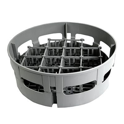 Jackson WWS 07320-100-17-01 dishwasher rack, glass compartment