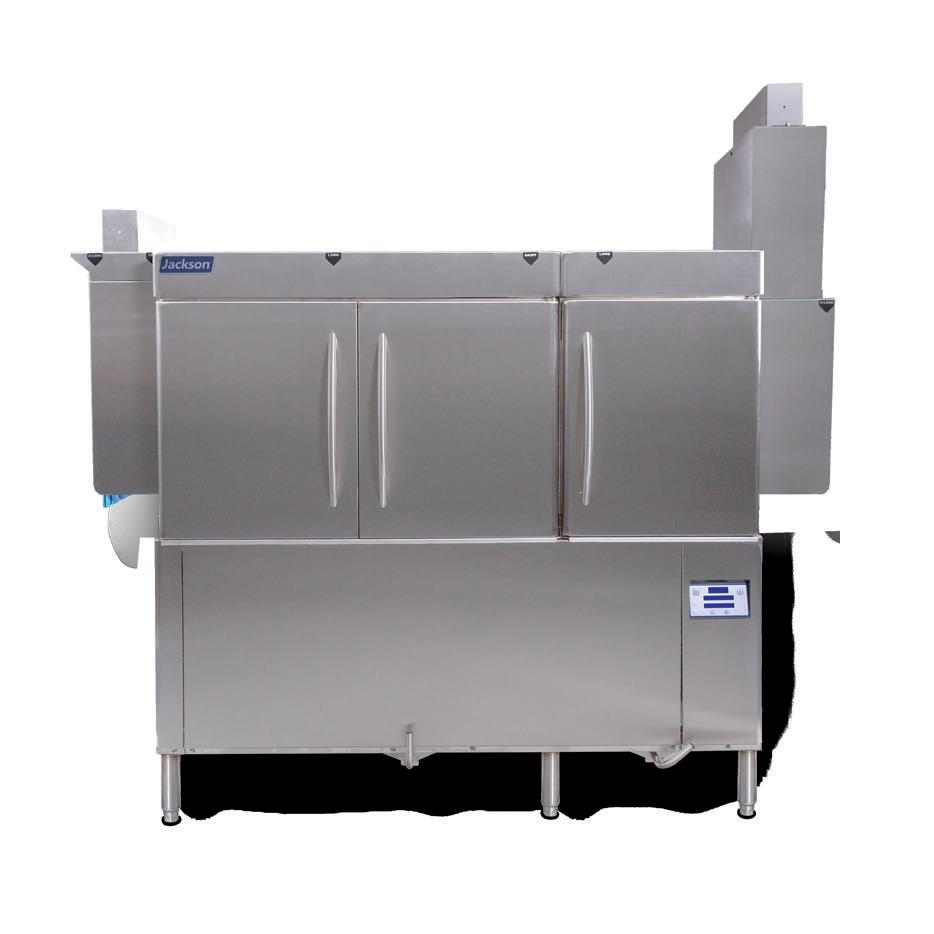Jackson WWS RACKSTAR 66CE ENERGY RECOVERY dishwasher, conveyor type