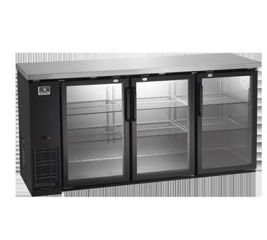 Kelvinator Commercial KCBB72GB-HC back bar cabinet, refrigerated