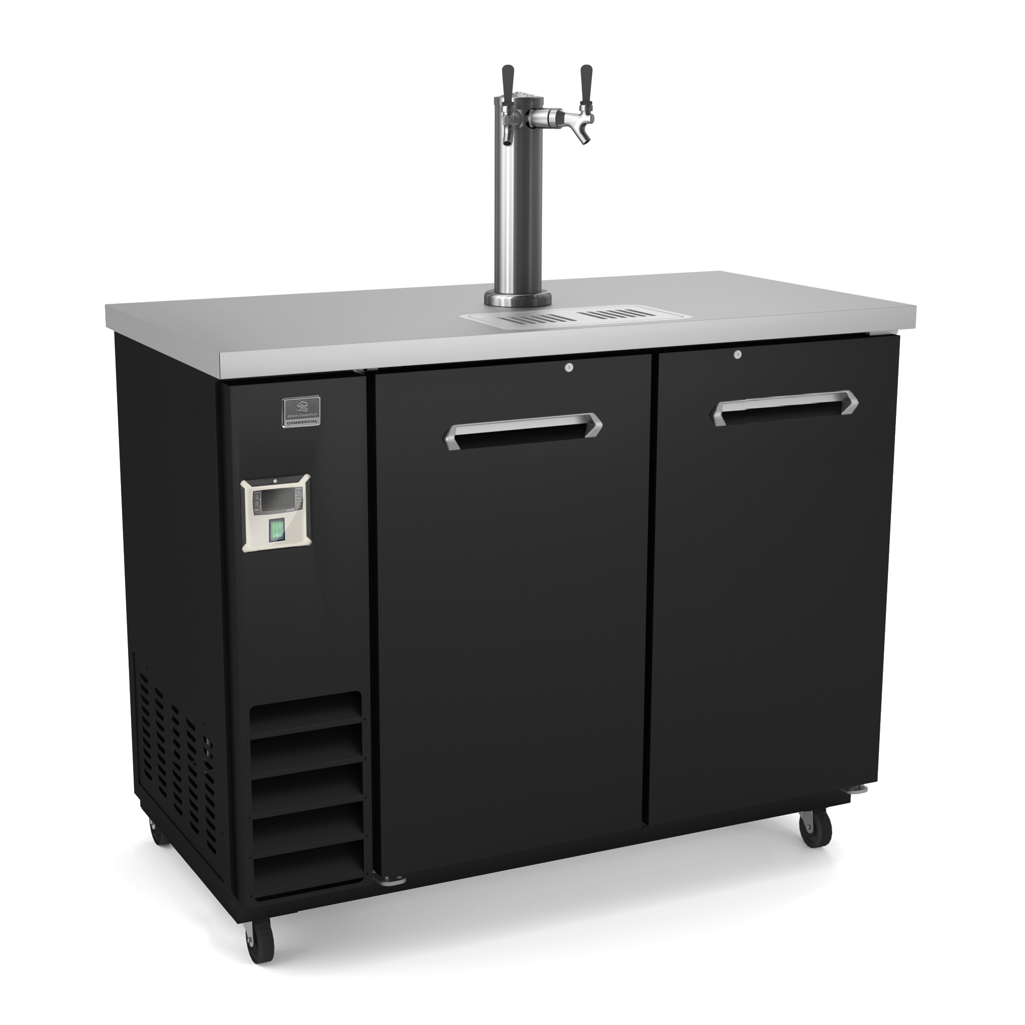 Kelvinator Commercial KCHBBD2D1T draft beer cooler