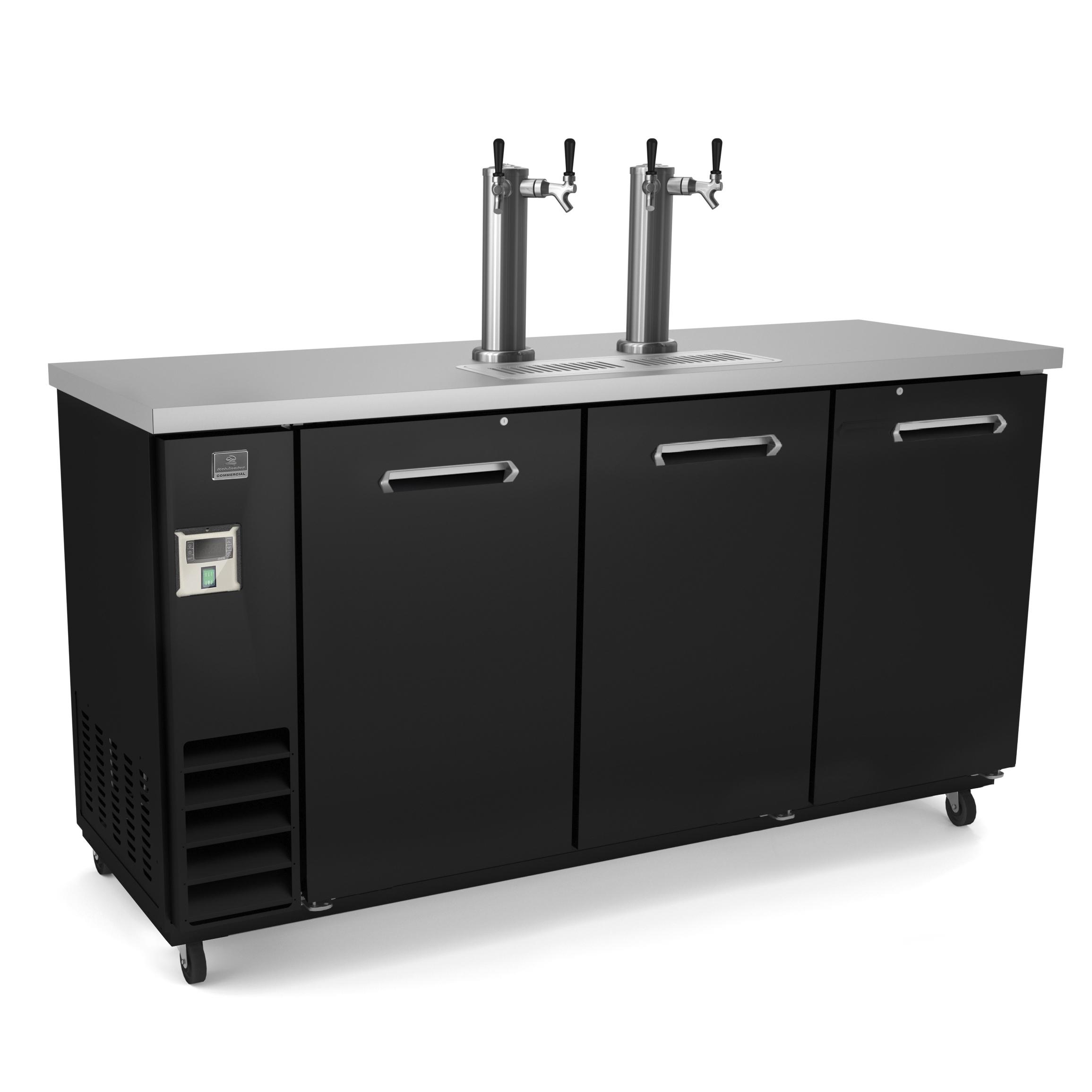 Kelvinator Commercial KCHBBD3D2T draft beer cooler