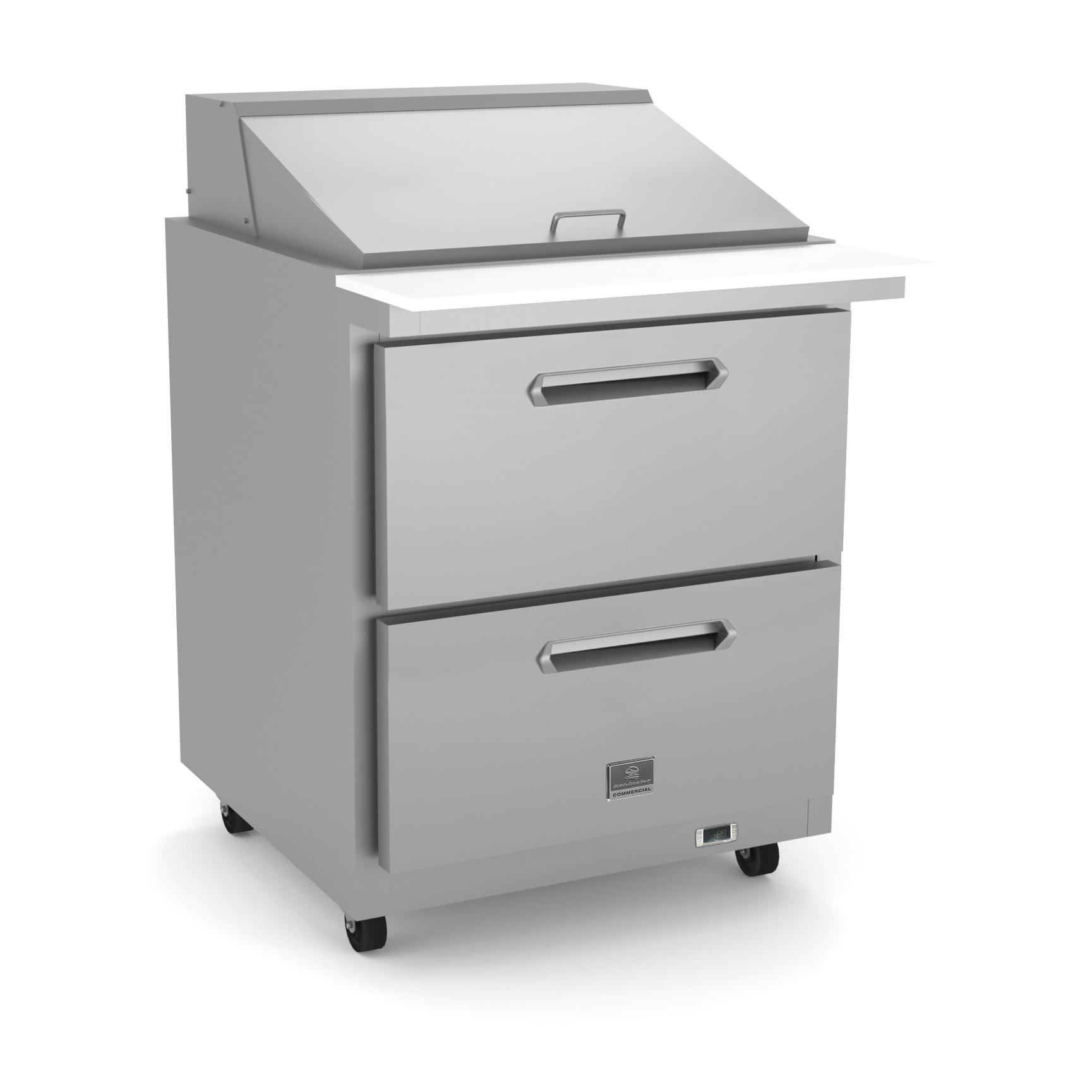 Kelvinator Commercial KCHMT29.12.2D refrigerated counter, mega top sandwich / salad unit