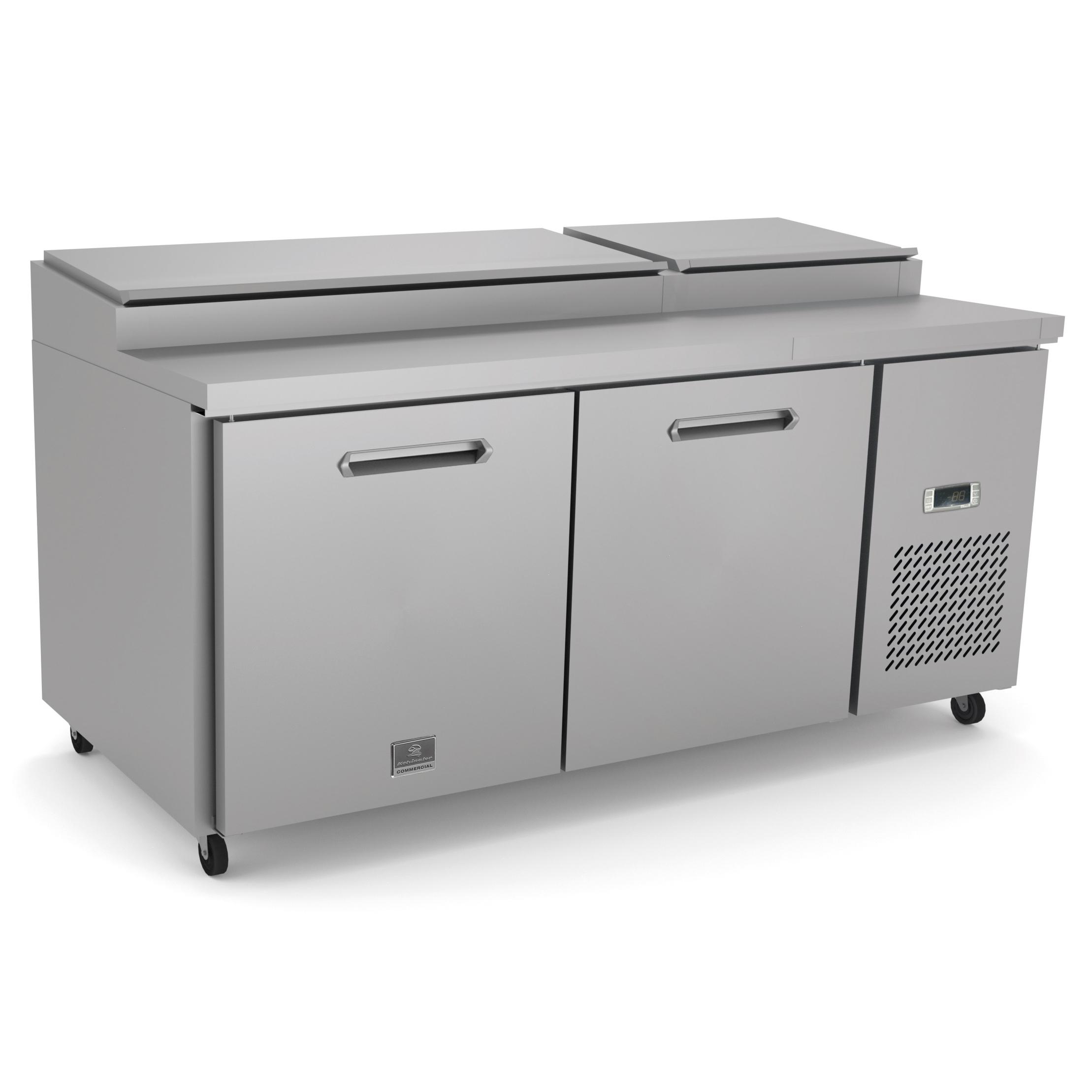 Kelvinator Commercial KCHPT72.9 refrigerated counter, pizza prep table