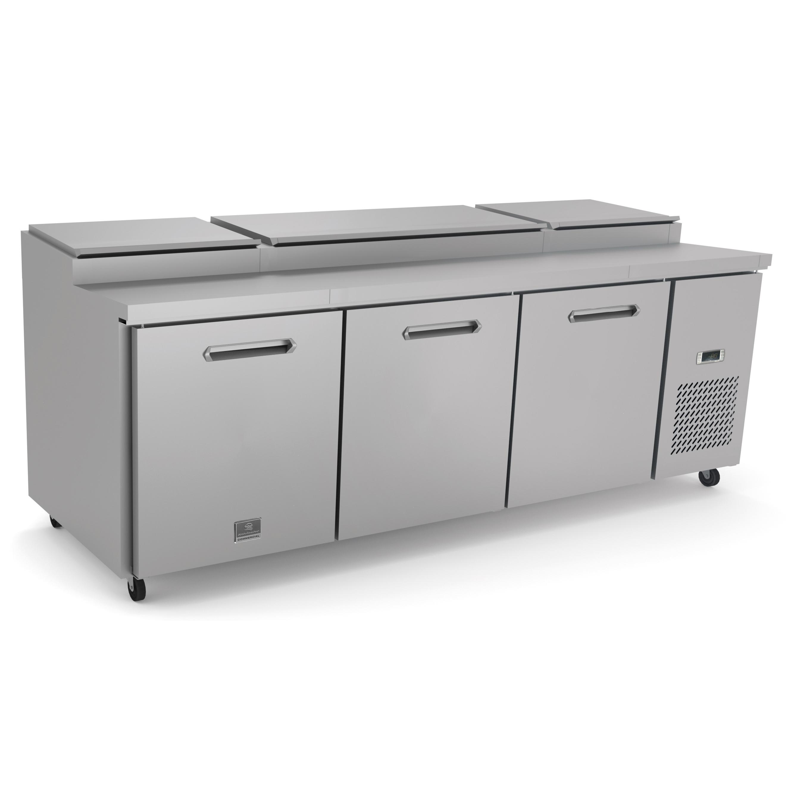 Kelvinator Commercial KCHPT92.12 refrigerated counter, pizza prep table