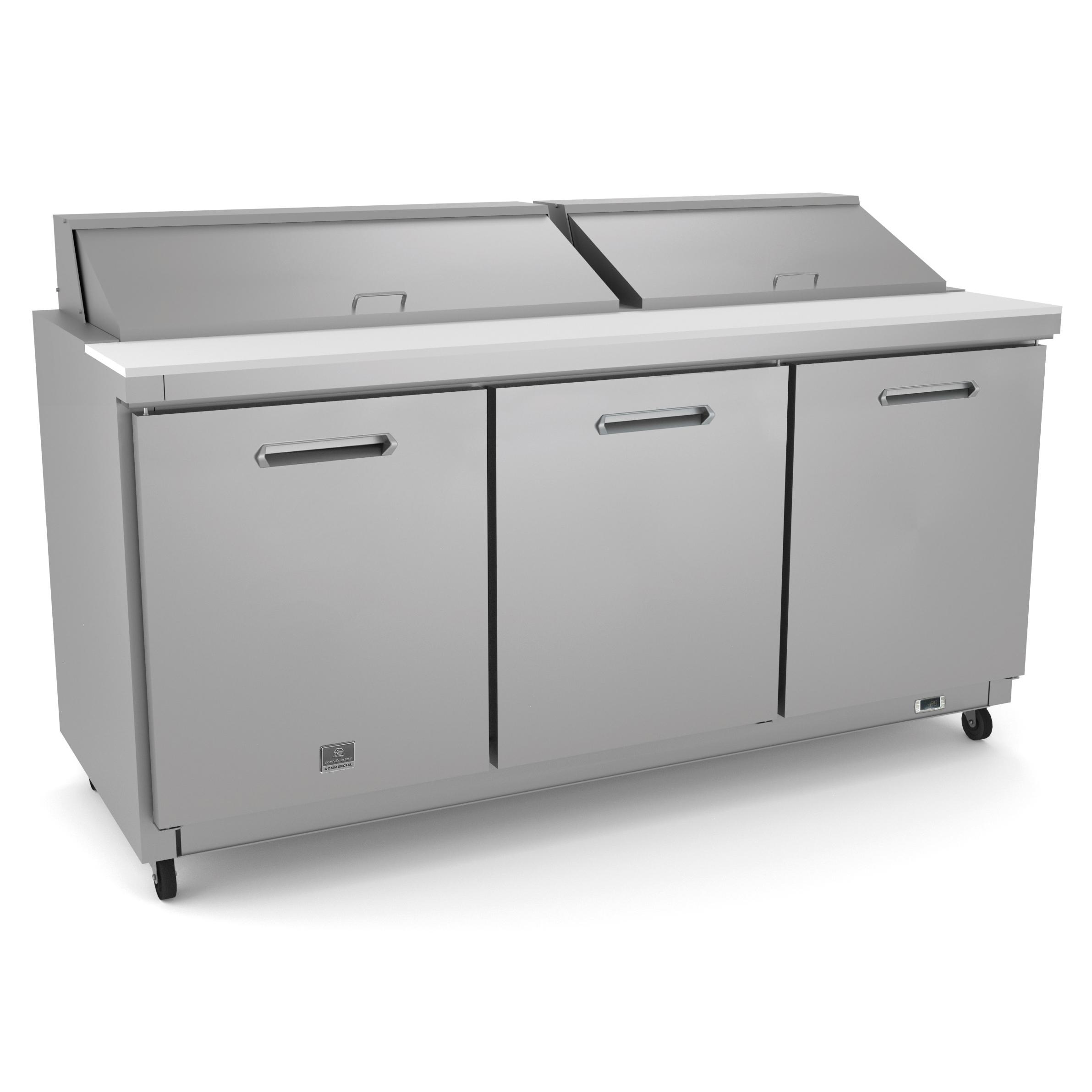 Kelvinator Commercial KCHST70.18 refrigerated counter, sandwich / salad unit
