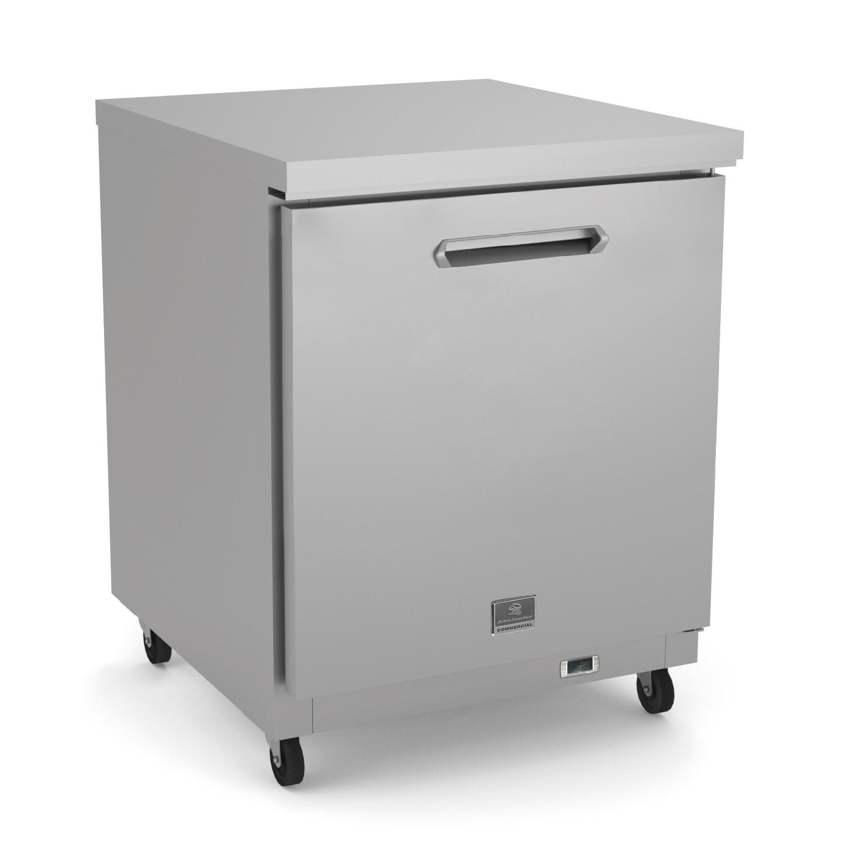Kelvinator Commercial KCHUC27F freezer, undercounter, reach-in