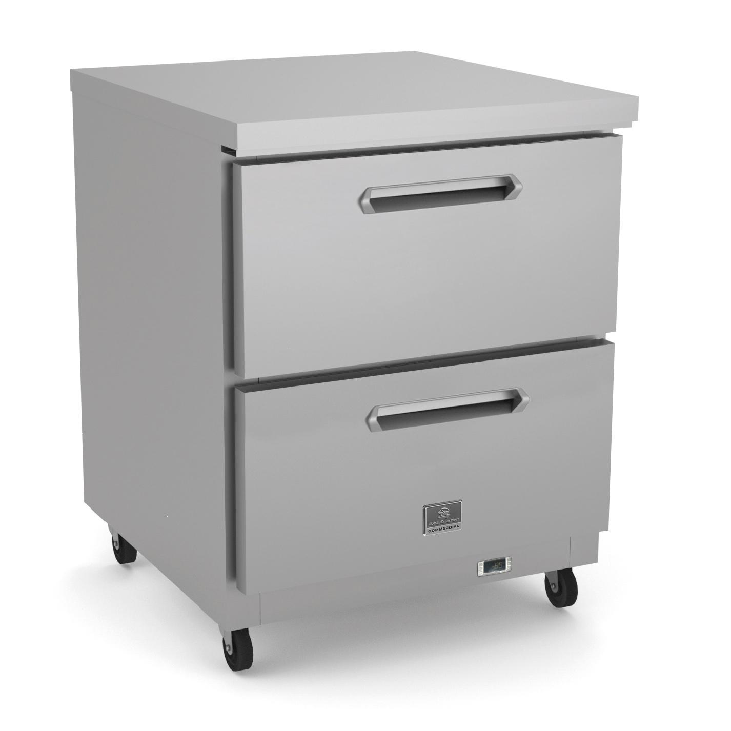 Kelvinator Commercial KCHUC27R.2D refrigerator, undercounter, reach-in