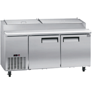 Kelvinator Commercial KCPT72.9-HC refrigerated counter, pizza prep table