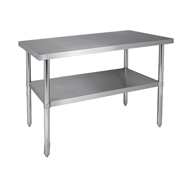 Klinger's Trading 1824 SS work table, undershelf