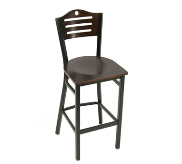 Klinger's Trading 707-BS-W bar stool, indoor