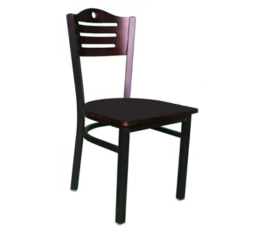 Klinger's Trading 707-BW chair, side, indoor