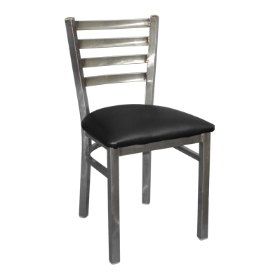 Klinger's Trading 760-BLACK chair, side, indoor