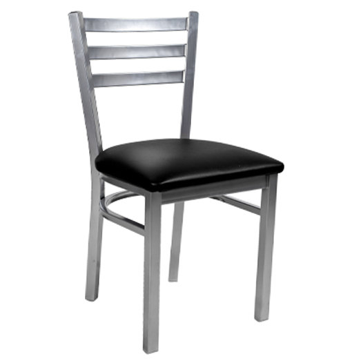 Klinger's Trading 781-BLACK chair, side, indoor