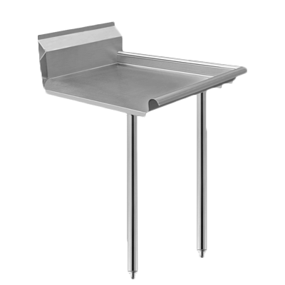 Klinger's Trading CDT-24R dishtable, clean straight
