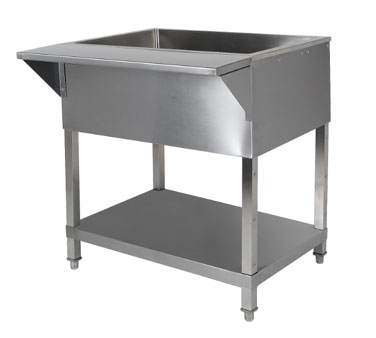 Klinger's Trading CP-2 serving counter, cold food