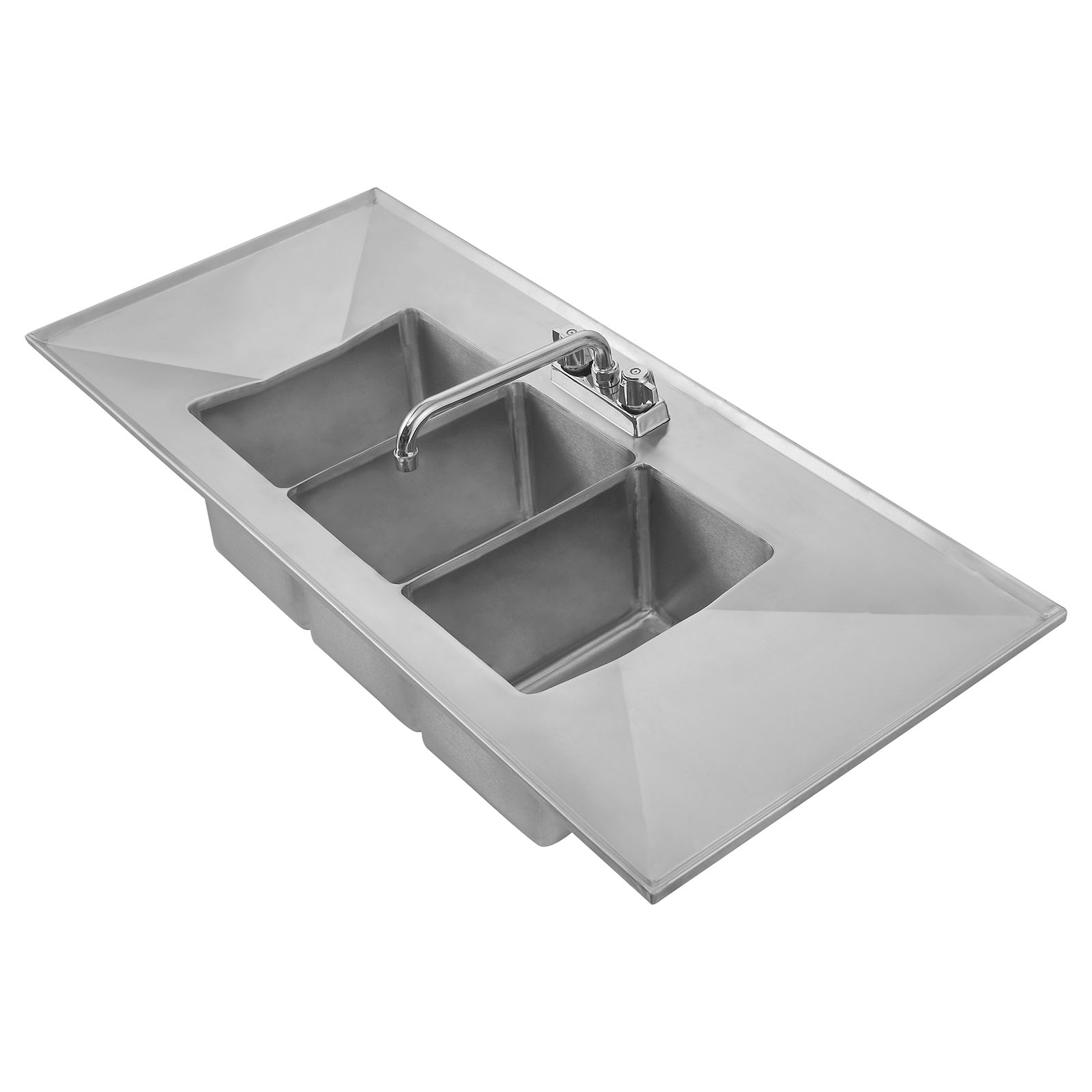 Klinger's Trading DIS-3-2D sink, drop-in