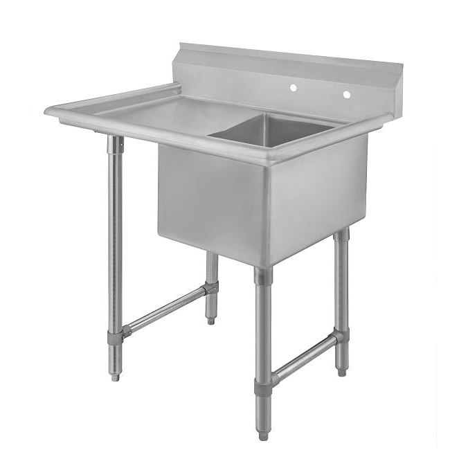 Klinger's Trading ECS11824DL24 sink, (1) one compartment
