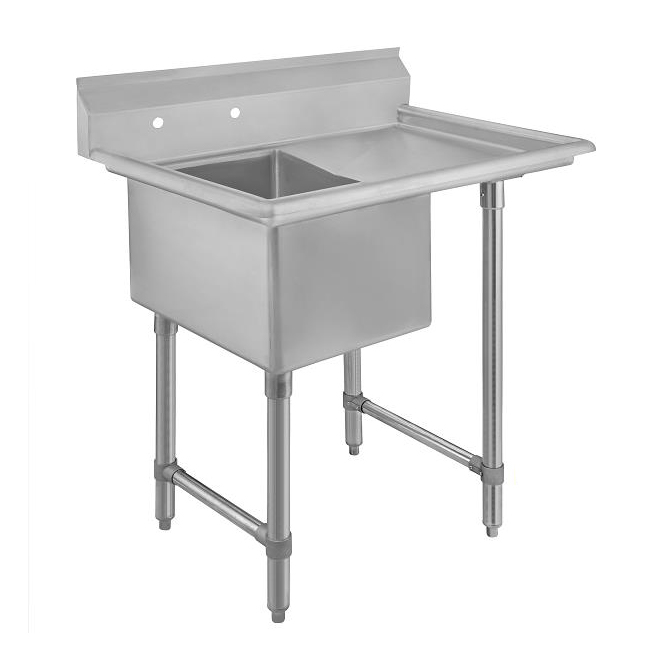 Klinger's Trading ECS11824DR24 sink, (1) one compartment