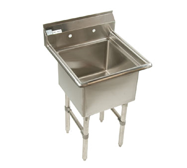 Klinger's Trading ECS1-2424 sink, (1) one compartment