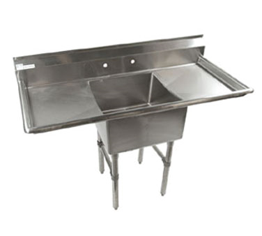 Klinger's Trading ECS-1-2D sink, (1) one compartment