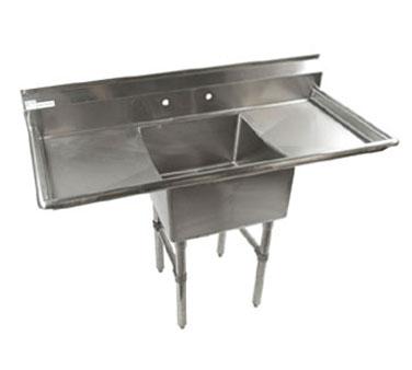 Klinger's Trading ECS-1-2D sink, (1) one compartment
