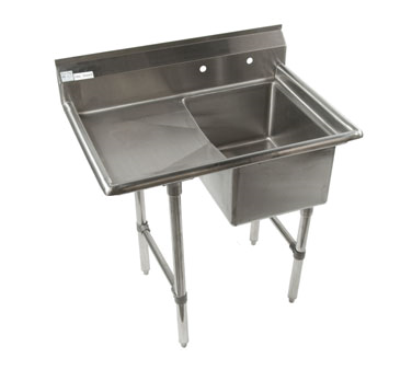 Klinger's Trading ECS1DL sink, (1) one compartment