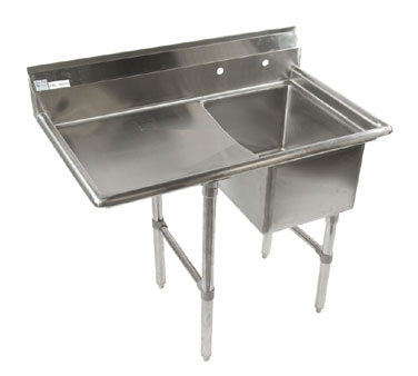 Klinger's Trading ECS1DL24 sink, (1) one compartment
