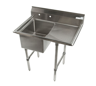 Klinger's Trading ECS1DR sink, (1) one compartment