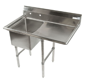 Klinger's Trading ECS1DR24 sink, (1) one compartment