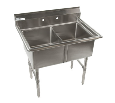 Klinger's Trading ECS2 sink, (2) two compartment