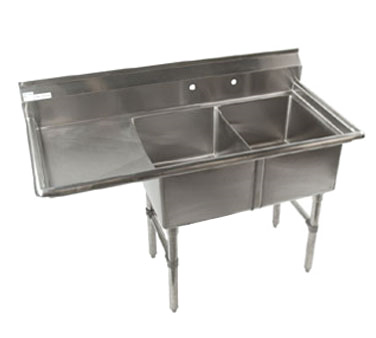 Klinger's Trading ECS2DL sink, (2) two compartment