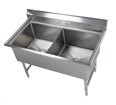 Klinger's Trading EIT2 sink, (2) two compartment