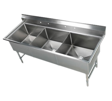 Klinger's Trading EIT3 sink, (3) three compartment
